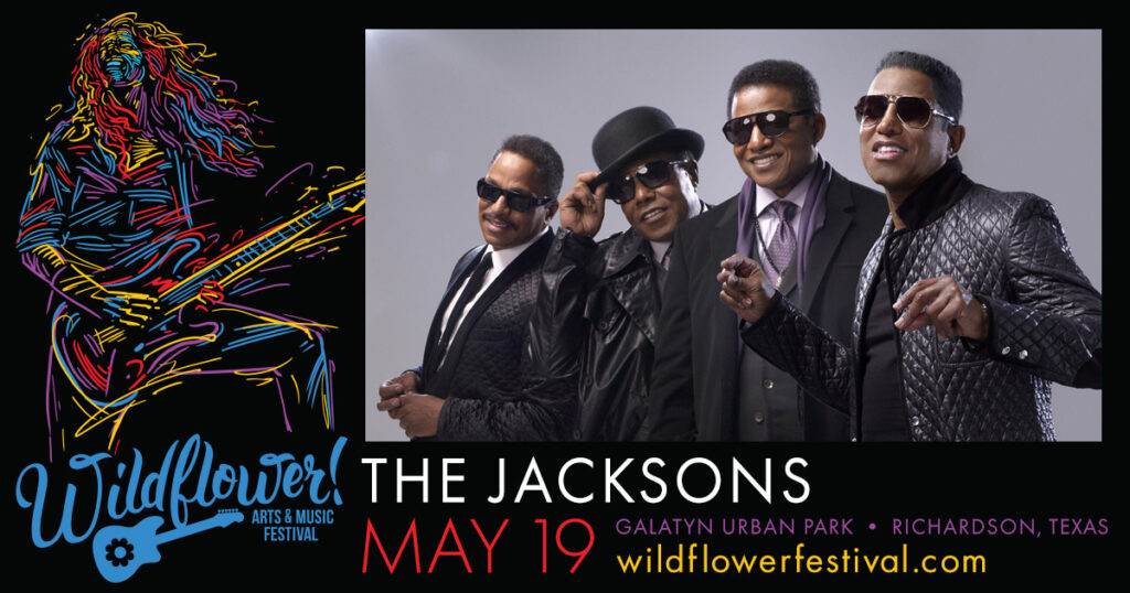The Jacksons at Wildflower! Arts & Music Festival in Richardson