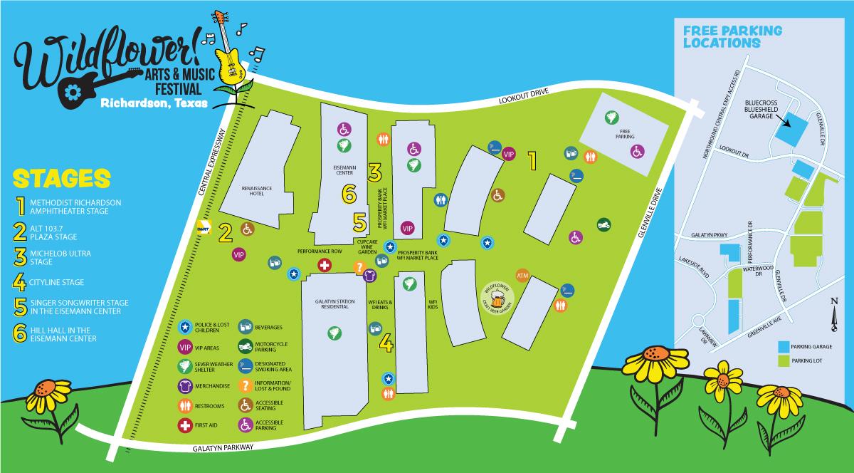 2020 Festival Map